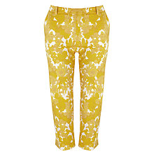 Buy Weekend by MaxMara Floral Trousers, Yellow Online at johnlewis.com