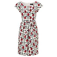 Buy Weekend by MaxMara Paint Brush Print Dress, Multi Online at johnlewis.com