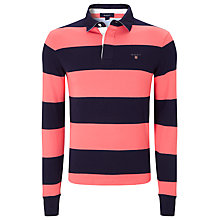 Buy Gant Barstripe Heavy Rugby Shirt Online at johnlewis.com