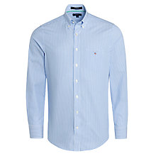 Buy Gant Banker Bengal Stripe Poplin Shirt Online at johnlewis.com