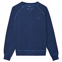 Buy Gant Sunbleached Cotton Sweatshirt Online at johnlewis.com