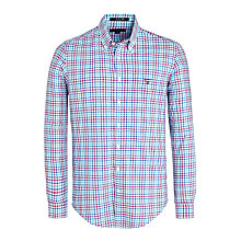 Buy Gant Poplin Check Shirt, Paradise Cove Online at johnlewis.com