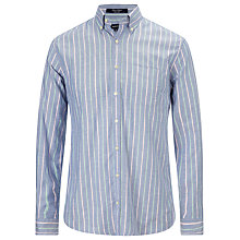 Buy Gant Sunset Oxford Long Sleeve Stripe Shirt Online at johnlewis.com