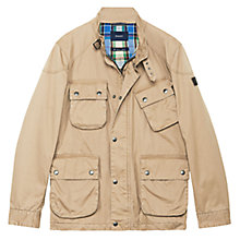 Buy Gant Cruiser Four Pocket Jacket, Beige Online at johnlewis.com
