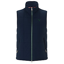 Buy Gant Boardwalk Gilet, Classic Blue Online at johnlewis.com