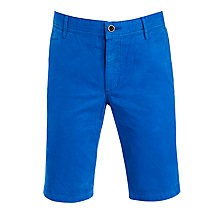 Buy BOSS Orange Schino Regular Fit Shorts, French Blue Online at johnlewis.com