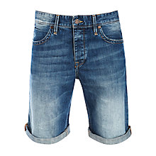 Buy BOSS Orange 24 Milano Denim Shorts, Denim Online at johnlewis.com
