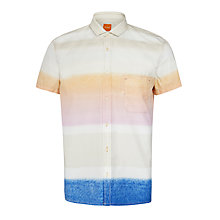 Buy BOSS Orange Ezippo E1 Multi Dip Dye Shirt Online at johnlewis.com