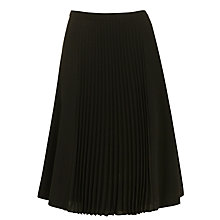 Buy BOSS Veplisa Skirt, Black Online at johnlewis.com