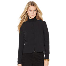 Buy Lauren Ralph Lauren Tailored Jacket, Black Online at johnlewis.com