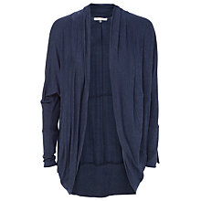 Buy Max Studio Drape Front Cardigan, Indigo Online at johnlewis.com