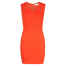 Buy Louche Cutout Detail Dress, Red Online at johnlewis.com