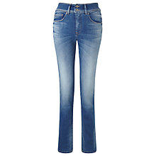 "Buy Salsa Secret Push-in, High-rise Slim Jeans 32"" Online at johnlewis.com"