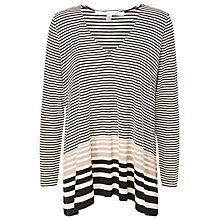 Buy Max Studio V-Neck Stripe Top, Kate Stripe Online at johnlewis.com