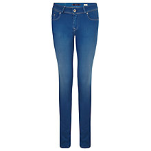 "Buy Salsa Jeans Colette Mid Rise Second Skin Jeans 32"", Blue Online at johnlewis.com"