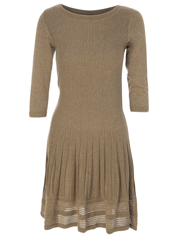 max studio 3/4 sleeve knit dress toast, max, studio, 3/4, sleeve, knit, dress, toast, max studio, m|s|l|xs, women, womens dresses, 1771961