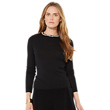Buy Lauren Ralph Lauren Nyron Top, Black Online at johnlewis.com