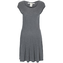 Buy Max Studio Knit Dress, Steel Online at johnlewis.com
