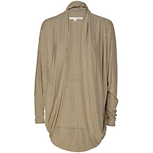 Buy Max Studio Drape Front Cardigan Online at johnlewis.com