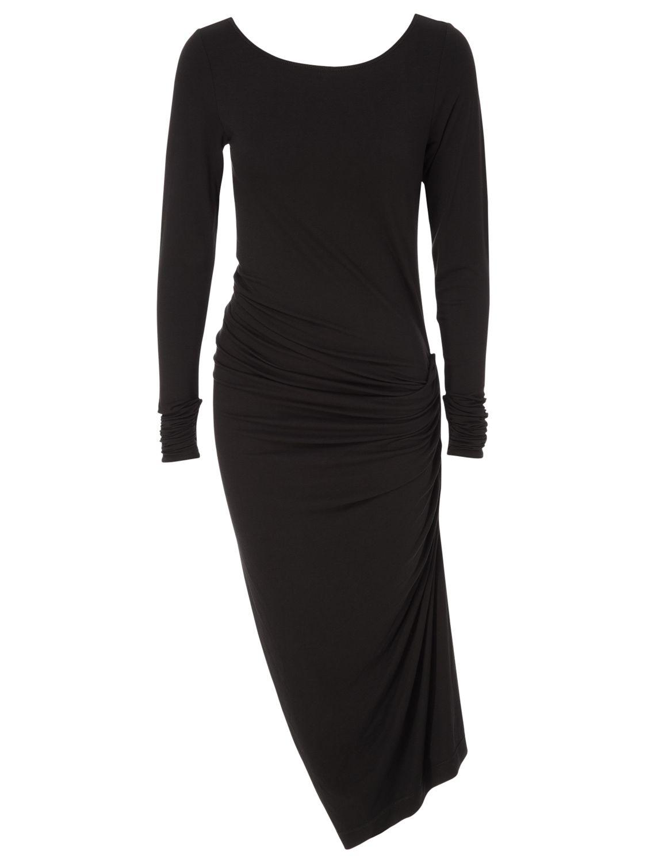 max studio side drape dress black, max, studio, side, drape, dress, black, max studio, xs|m|l|s, women, womens dresses, 1770540