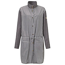 Buy Armani Jeans Showerproof Coat, Black/White Online at johnlewis.com