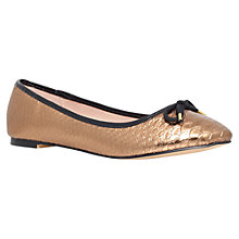 Buy Carvela Marcie Flat Bow Detail Ballerina Pumps Online at johnlewis.com
