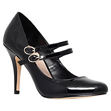 Buy Carvela Kelly Patent Court Shoes, Black Online at johnlewis.com