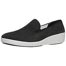 Buy FitFlop F-Pop Skate Nubuck Shoes Online at johnlewis.com