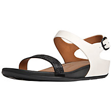 Buy Fitflop Banda Crystal Wedge Heeled Sandals Online at johnlewis.com