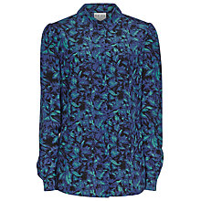 Buy Reiss Marion Graphic Print Shirt, Autumn Leaf Online at johnlewis.com
