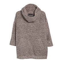 Buy Violeta by Mango Tweed Jumper, Beige Online at johnlewis.com