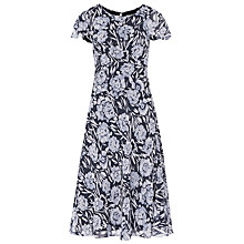 Buy Reiss Floral Print Dress, Multi Online at johnlewis.com