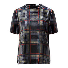 Buy Jigsaw Tartan Top Online at johnlewis.com