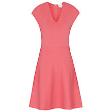 Buy Reiss Renee Dress, Deep Flamingo Online at johnlewis.com