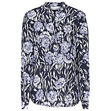 Buy Reiss Bloom Chico Print Silk Blouse, Multi Online at johnlewis.com