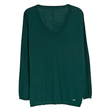 Buy Violeta by Mango V-Neckline Jumper Online at johnlewis.com