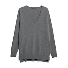 Buy Violeta by Mango Cashmere Jumper, Grey Online at johnlewis.com