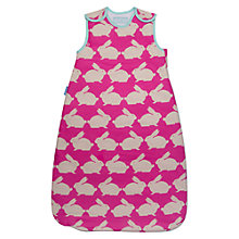 Buy Grobag Anorak Rabbits Baby Sleep Bag, 1 Tog, Pink/Multi Online at johnlewis.com