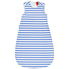 Buy Grobag Seaside Stripe Baby Sleeping Bag, 1 Tog, Blue/White Online at johnlewis.com