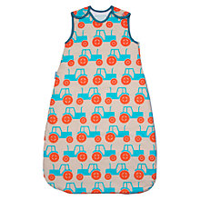 Buy Grobag Anorak Tractors Baby Sleeping Bag, 1 Tog, Multi Online at johnlewis.com