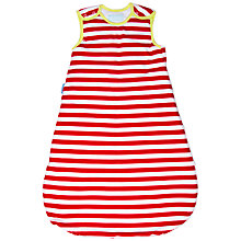 Buy Grobag Deckchair Striped Sleeping Bag, 1 Tog, Red/White Online at johnlewis.com
