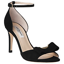 Buy L.K. Bennett Aven Suede Bow Trim Sandals Online at johnlewis.com