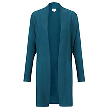 Buy Jigsaw Longline Cardigan, Dark Teal Online at johnlewis.com