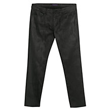 Buy Violeta by Mango Slim-Fit Boah Jeans, Black Online at johnlewis.com