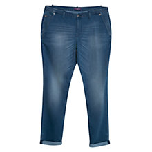 Buy Violeta by Mango Chino-Fit Eddi Jeans, Blue Online at johnlewis.com