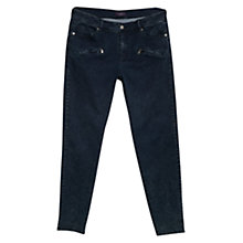 Buy Violeta by Mango Super Slim Fit Roxy Jeans, Navy Online at johnlewis.com