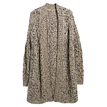 Buy Violeta by Mango Aran Cardigan, Beige Online at johnlewis.com