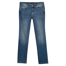 Buy Violeta by Mango Slim Fit Royals Jeans, Medium Blue Online at johnlewis.com