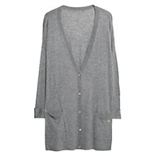 Buy Violeta by Mango Wool Blend Essential Cardigan Online at johnlewis.com