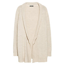 Buy Violeta by Mango Wool Blend Cardigan, Light Beige Online at johnlewis.com